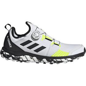 adidas TERREX Agravic Boa Trail Running Shoes Men, blanc/noir